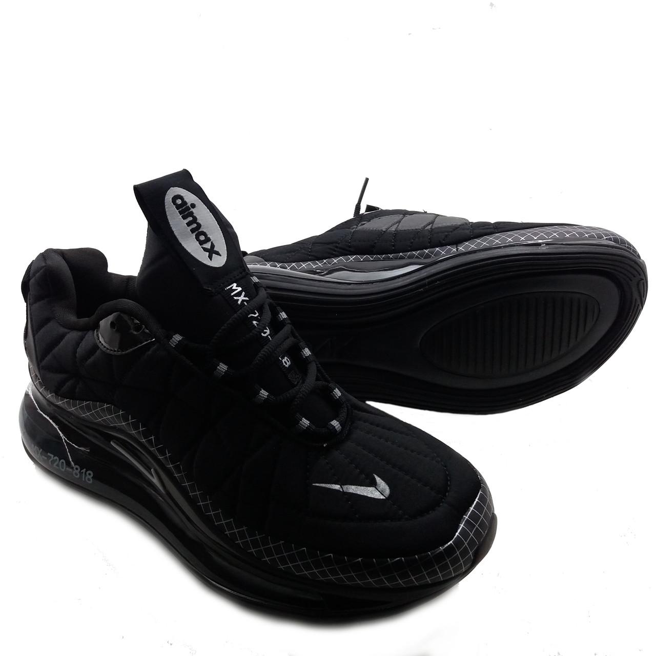 Мужские кроссовки Nike Air Max 720 Черно-серый