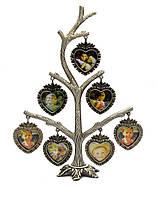 """Фоторамка """"Родовое дерево"""" (7 фото) (23,5х15х6 см)"""