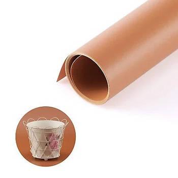 70х130см коричневий (кавовий) ПВХ Фон для зйомки Visico PVC-7013 Сoffee