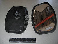 Зеркало боковое УАЗ 452 250х160 плоское пласт.корп. ( Россия), 452-8201020-П1