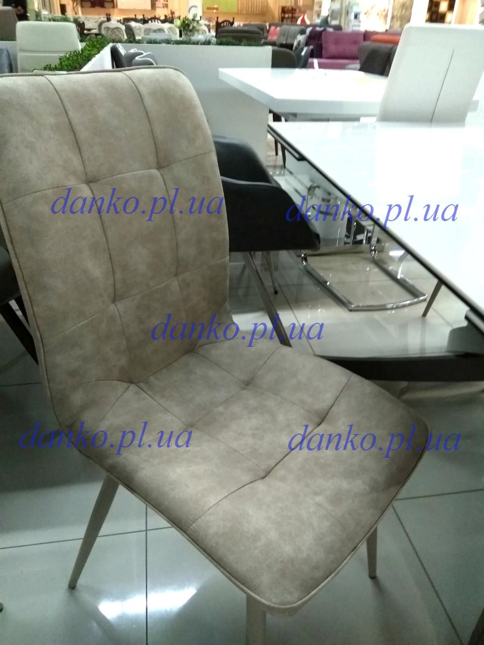 Обідній стілець N-78 латте нубук від Vetro Mebel