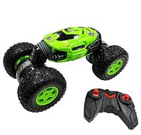 Машинка трюковая перевёртыш с управлением от руки жестами вездеход Dance Monster, цвет красный, зеленый