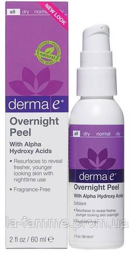 Ночной пилинг с альфа-гидроксикислотами *Derma E (США)*