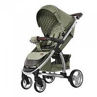 Удобная детская прогулочная коляска CARRELLO Vista   CRL-8505 OIIVE GREEN