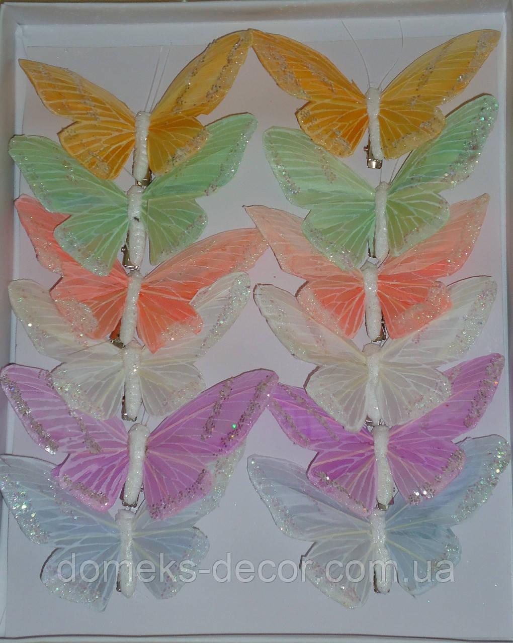 Бабочка 12 см, фото 1