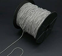 Цепочка шариковая на метраж 2 мм