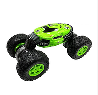 Dance Monster трюковая машинка перевёртыш с управлением от руки жестами вездеход, цвет красный, зеленый