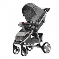Удобная детская прогулочная коляска CARRELLO Vista   CRL-8505  SHARK GREY