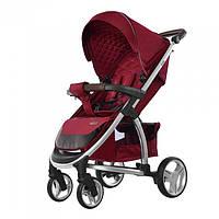 Удобная детская прогулочная коляска CARRELLO Vista CRL-8505 RUBY RED