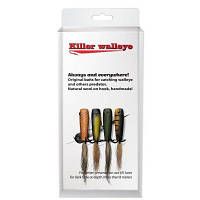Рыболовная приманка Killer Walleye Clasic Color, 4pcs in set (12725)