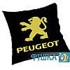 Подушка с логотипом PEUGEOT