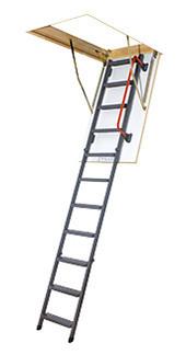 Металеві сходи на горище Fakro LMK Чердачная лестница Факро 120*60, 120*70