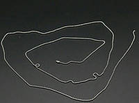 Цепочка шариковая тоненькая. 1 м 1,5 мм