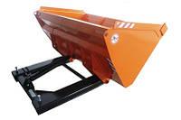 Ковш для вилочного погрузчика с гидравлическим управлением.