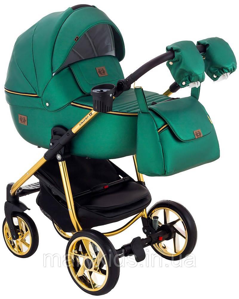 Детская универсальная коляска 2 в 1 Adamex Hybryd Plus Polar Y216A