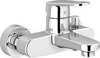 Смеситель однорычажный для ванны и душа Grohe Europlus New 33553002,кран в ванную