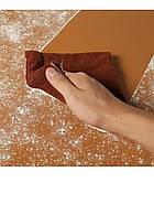100x200см коричневый (кофейный) ПВХ Фон для съёмки Visico PVC-1020 Сoffee, фото 5