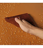 100x200см коричневый (кофейный) ПВХ Фон для съёмки Visico PVC-1020 Сoffee, фото 6