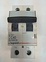 Автоматический выключатель Legrand TX3 2P 40A