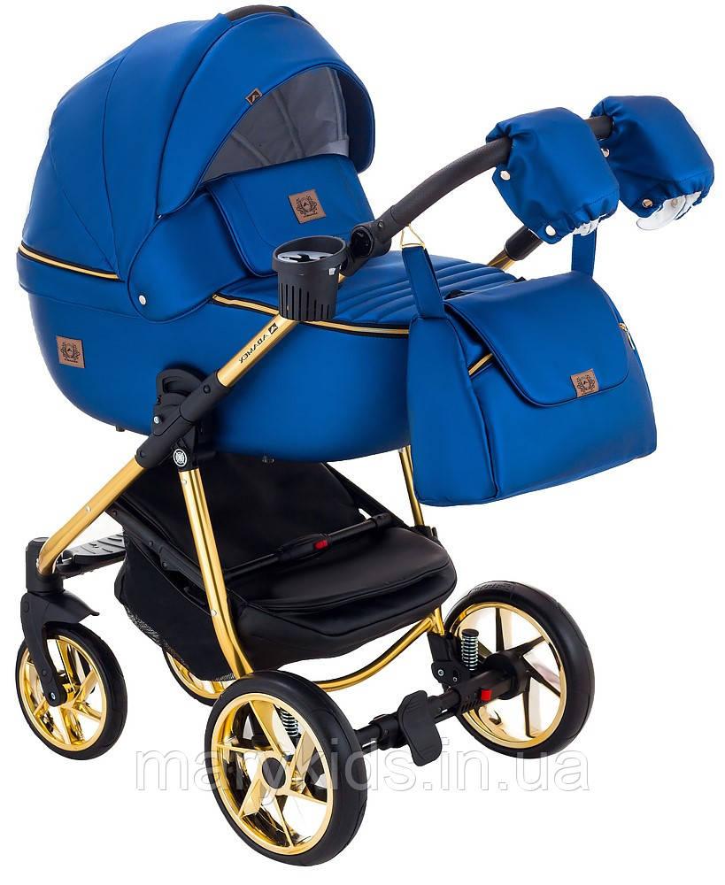 Детская универсальная коляска 2 в 1 Adamex Hybryd Plus Polar Y220A