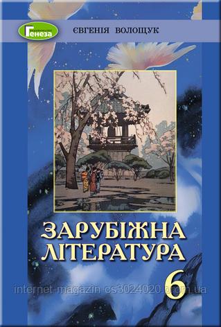 Зарубіжна література 6 клас. Підручник (2019). Волощук Є. В., фото 2