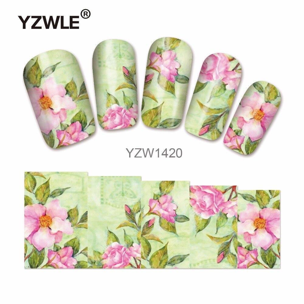 Слайдер-дизайн для нігтів YZW-1420 6.2*5.2 см