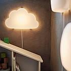 Бра светодиодный IKEA UPPLYST белое облако 304.245.16, фото 4