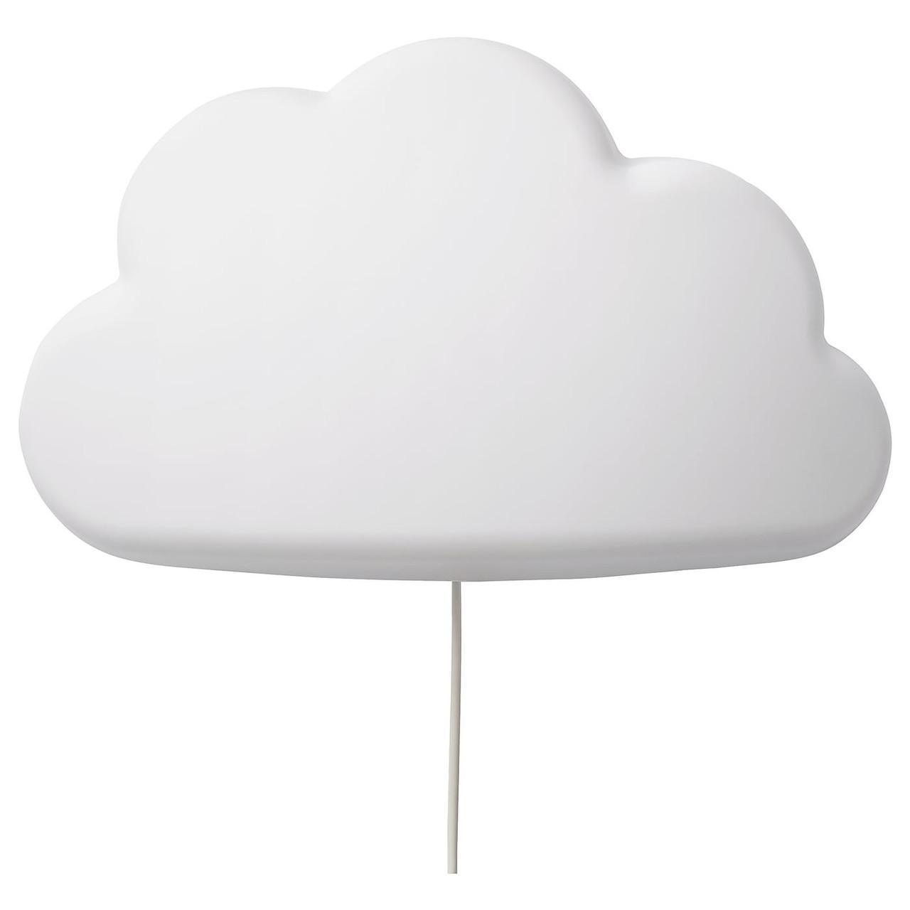 Бра светодиодный IKEA UPPLYST белое облако 304.245.16
