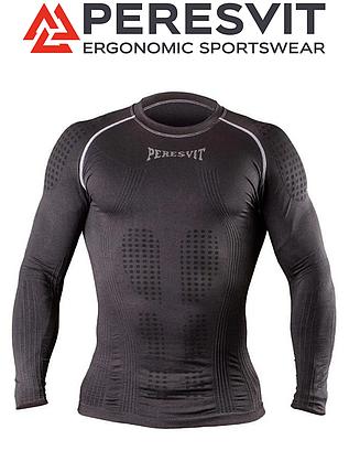 Компресійна футболка з довгим рукавом Peresvit 3D Performance Rush Compression T-Shirt Black, фото 2