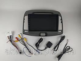 Штатная автомагнитола Hyundai Elantra 2008-2010 на Android с хорошей звуковой настройкой