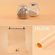 100х200см помаранчевий ПВХ Фон для зйомки Visico PVC-1020 Orange, фото 3