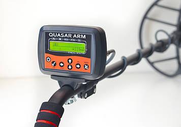 Металлоискатель Quasar ARM c FM трансмиттером и регулятором тока ТХ Черный (METQ1910)