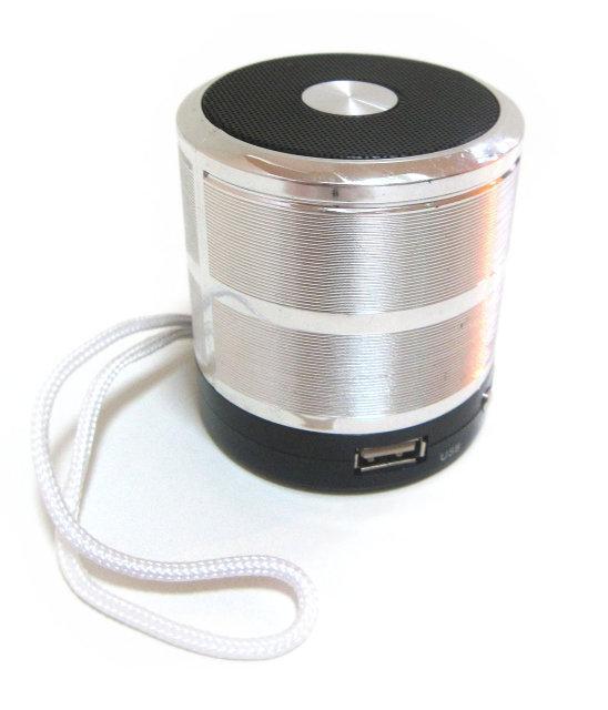 Портативная колонка MHZ SPS 887 Silver (002300)