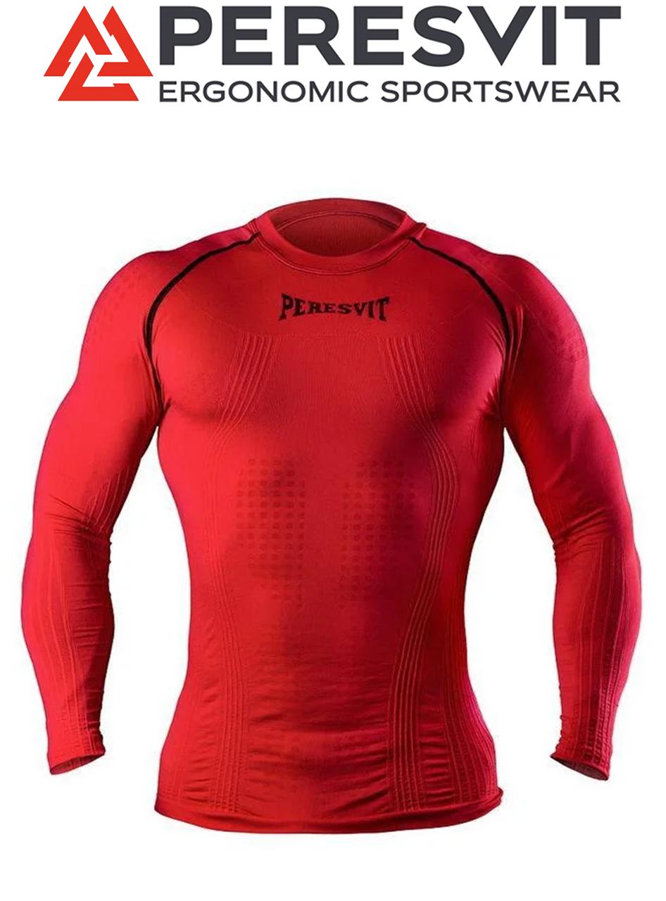 Компресійна футболка з довгим рукавом Peresvit 3D Performance Rush Compression T-Shirt Red