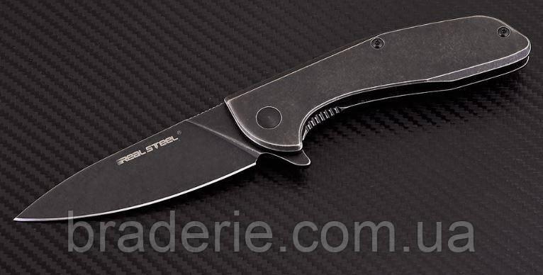 Нож складной E571 Stonewash на подшипниках