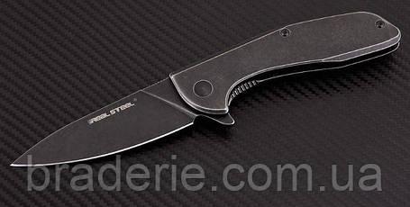 Нож складной E571 Stonewash на подшипниках, фото 2