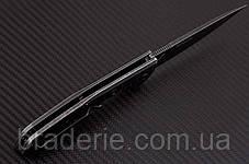 Нож складной E571 Stonewash на подшипниках, фото 3
