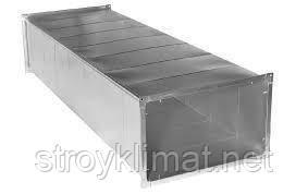 Воздуховод оцинкованный 350х500 0.55 мм, фото 2