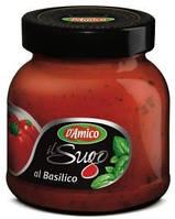 Соус томатный с Базиликом D'Amico 300 г