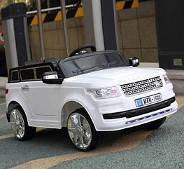Детский электромобиль Land Rover T-7835 EVA, белый