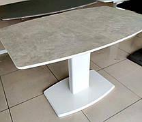 Стіл обідній розкладний Мілан-1 TES Mobili, стільниця з керамічним покриттям