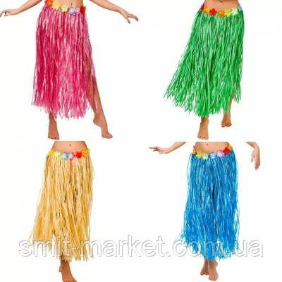 Карнавальна Гавайська спідниця(80см), фото 2