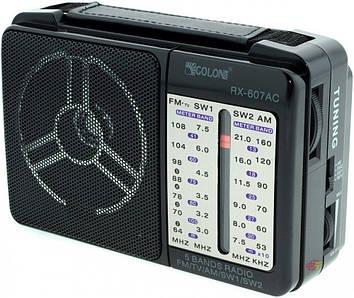 Радиоприемник GOLON RX-607 Черный (hub_NgzY24664)