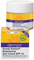Осветляющий дневной крем Evenly Radiant® с солнцезащитным фактором SPF15 *Derma E (США)*