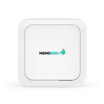 Портативный принтер для телефона MemoBird GT1 Белый (100058)