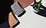 Многофункциональный мини-кошелёк MiniWallet с защитой от считывания карт светло-коричневый Код К-114, фото 3