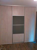 Шкаф-гардероб с комбинированой раздвижной системойи, фото 1