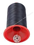 Нить обувная POLYART(ПОЛИАРТ) N40 467 цвет темно-синий 3000м., фото 2