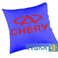 Подушка с логотипом CHERY