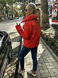 Теплая короткаяженская куртка с высоким воротником (4расцв) 42,44,46р., фото 9